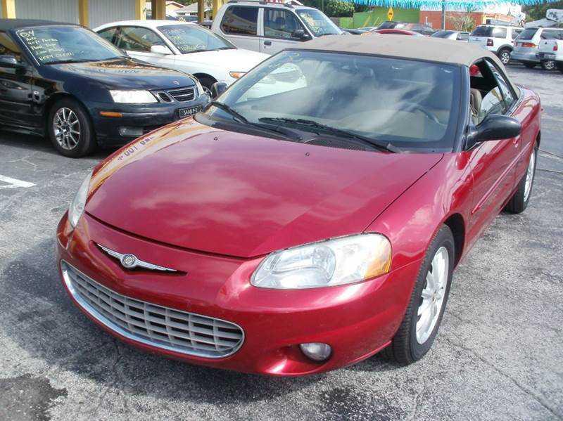 Chrysler Sebring 2003 $4295.00 incacar.com