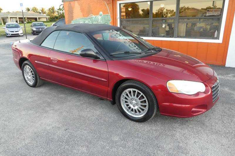 Chrysler Sebring 2004 $2950.00 incacar.com