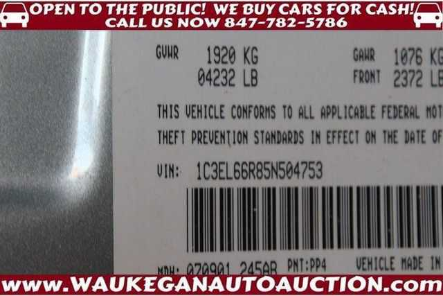 Chrysler Sebring 2005 $1500.00 incacar.com