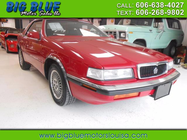 Chrysler TC 1991 $12888.00 incacar.com