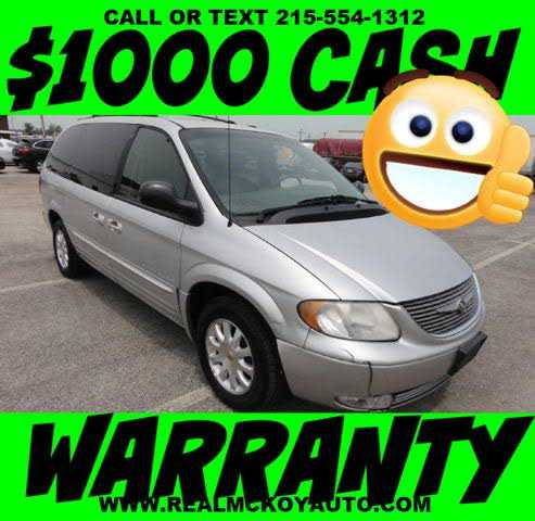 used Chrysler TOWN & COUNTRY 2001 vin: 2C8GP74L81R406573