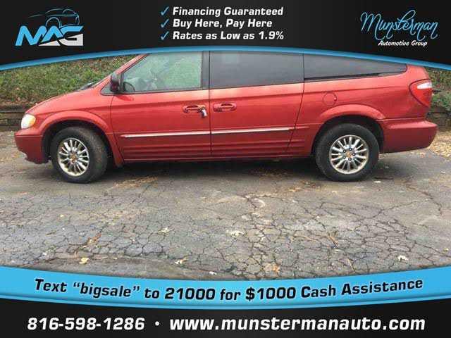 Chrysler TOWN & COUNTRY 2002 $2977.00 incacar.com