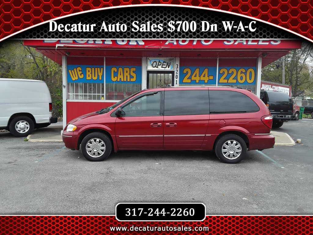 used Chrysler TOWN & COUNTRY 2006 vin: 2A8GP64LX6R809451