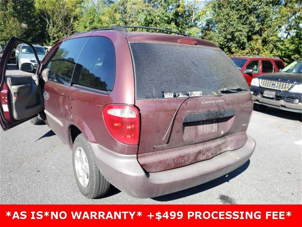 used Dodge Caravan 2001 vin: 1B4GP25G91B122290