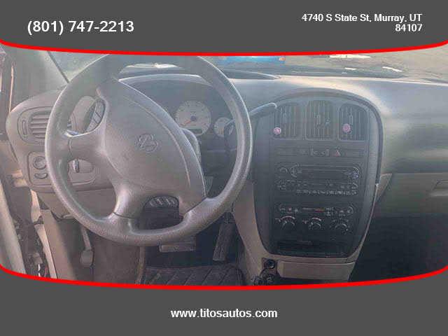 used Dodge Caravan 2002 vin: 1B4GP44362B699547