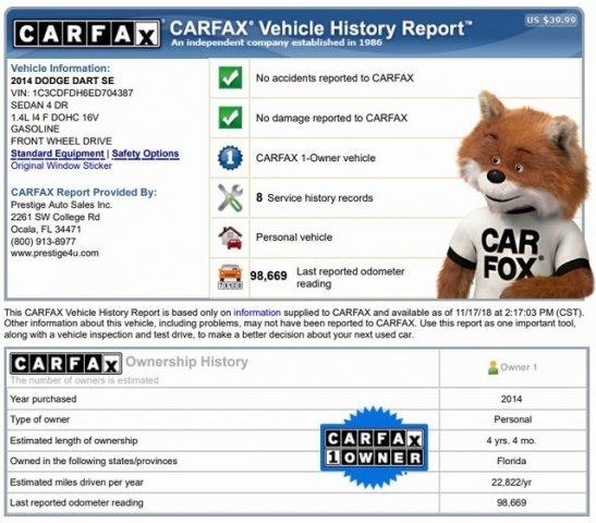 Dodge Dart 2014 $7000.00 incacar.com