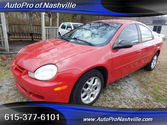Dodge Neon 2002 $2495.00 incacar.com
