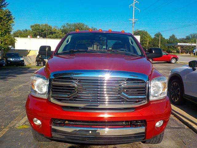 used Dodge Ram 2500 2008 vin: 3D7KS28A58G186952