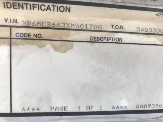 Dodge Ram 3500 1999 $8950.00 incacar.com