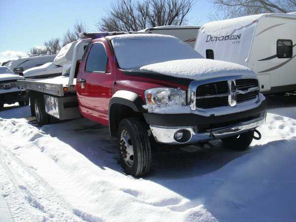used Dodge Ram 5500 Truck 2008 vin: 3D6WD76AX8G118615