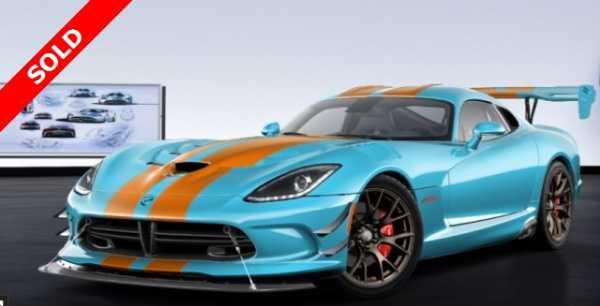 Dodge Viper 2017 $299000.00 incacar.com