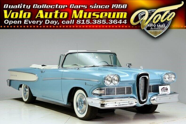 Edsel Pacer 1958 $85998.00 incacar.com