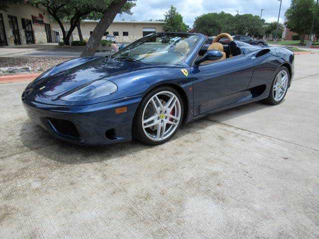 used Ferrari 360 2004 vin: ZFFYT53A140137743
