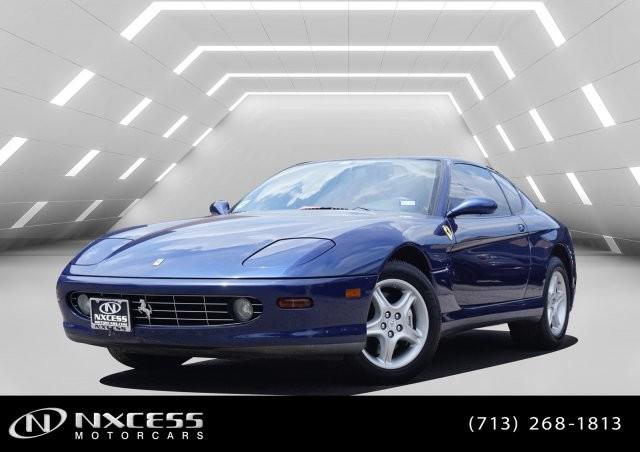 used Ferrari 456 M GTA 2001 vin: ZFFWL50A310124564