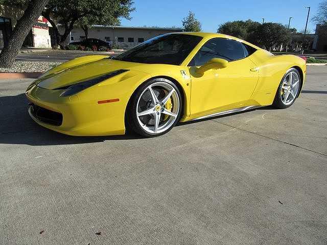 Ferrari 458 Italia 2010 $169900.00 incacar.com