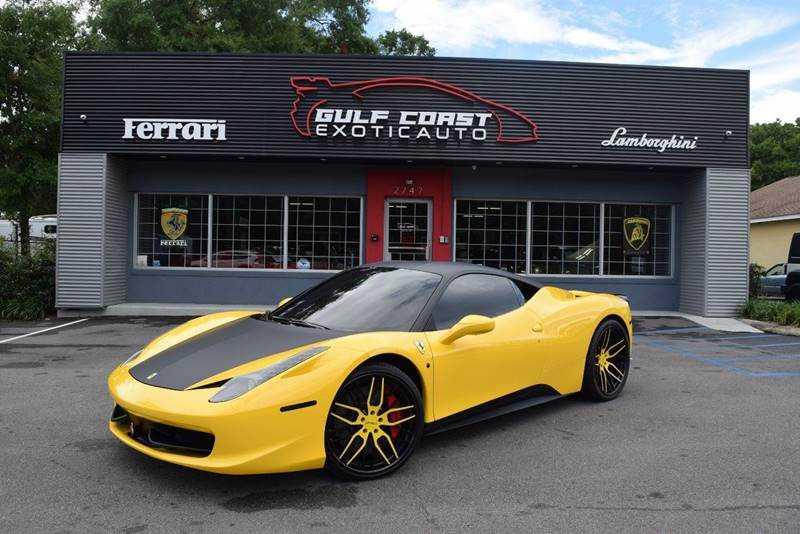 Ferrari 458 Italia 2010 $179900.00 incacar.com