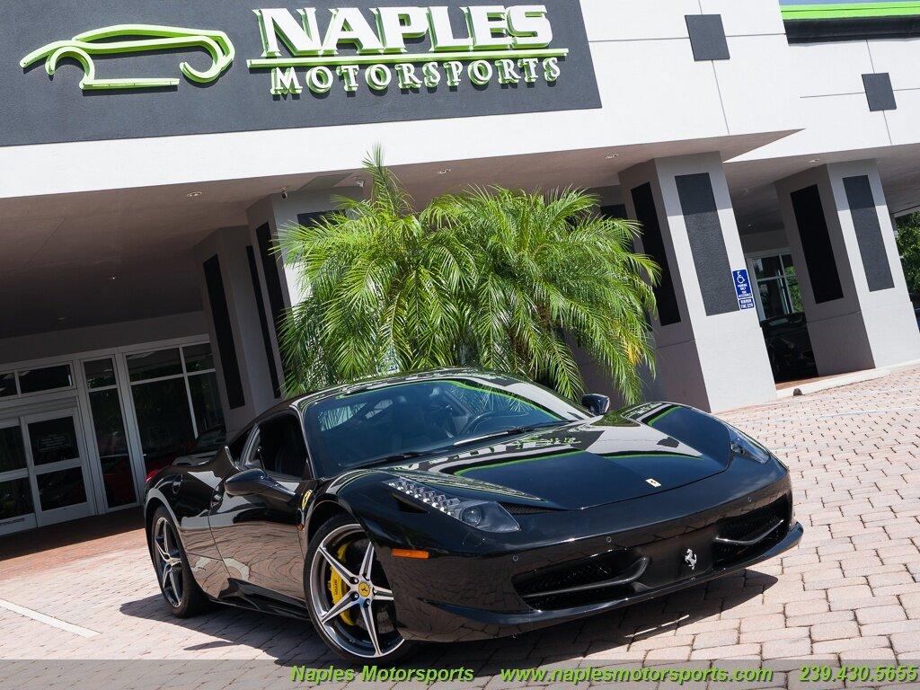 used Ferrari 458 Italia 2011 vin: ZFF67NFA1B0177003