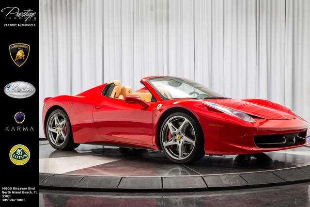 Ferrari 458 Italia 2012 $199950.00 incacar.com