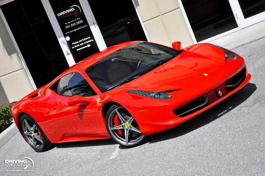 Ferrari 458 Italia 2012 $192900.00 incacar.com