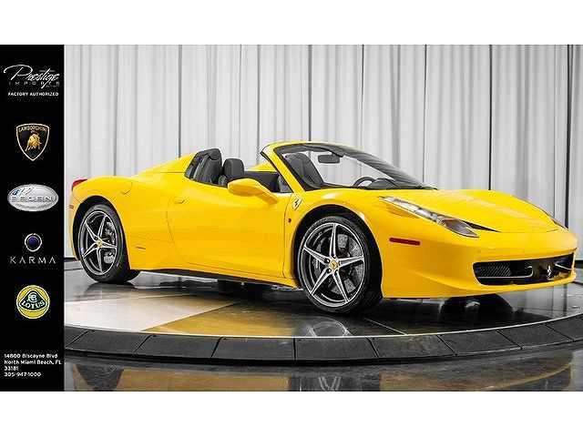 Ferrari 458 Italia 2013 $209950.00 incacar.com