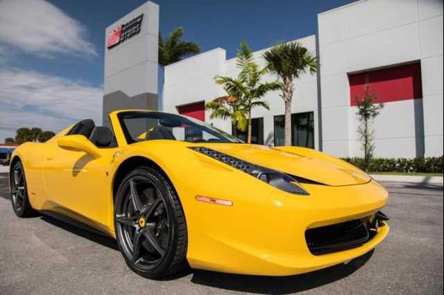 Ferrari 458 Spider 2013 $214900.00 incacar.com