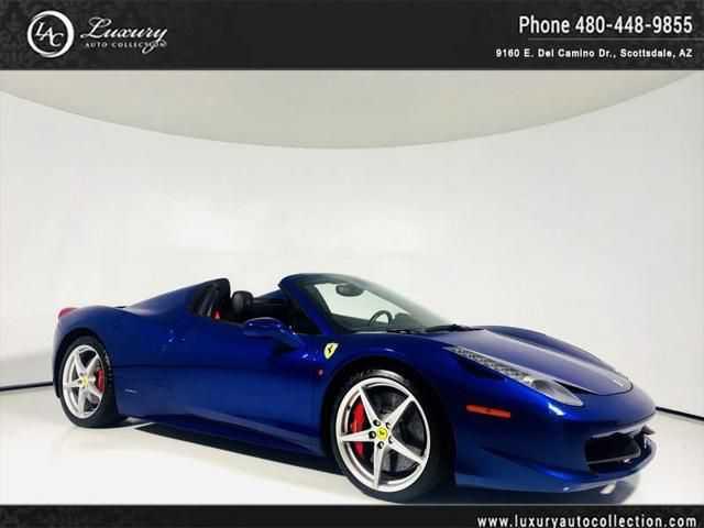 Ferrari 458 Spider 2013 $178000.00 incacar.com