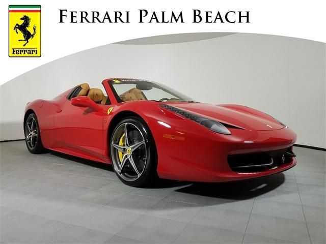 Ferrari 458 Spider 2013 $229995.00 incacar.com