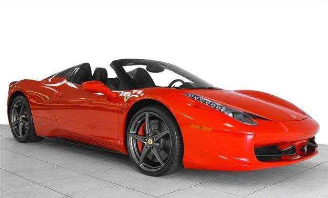 Ferrari 458 Spider 2013 $179999.00 incacar.com