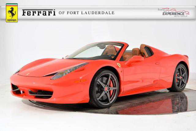 used Ferrari 458 Spider 2014 vin: ZFF68NHA6E0197374