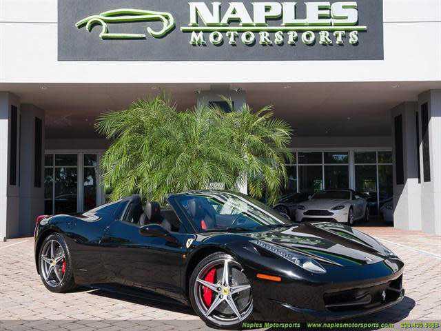 Ferrari 458 Spider 2014 $239995.00 incacar.com