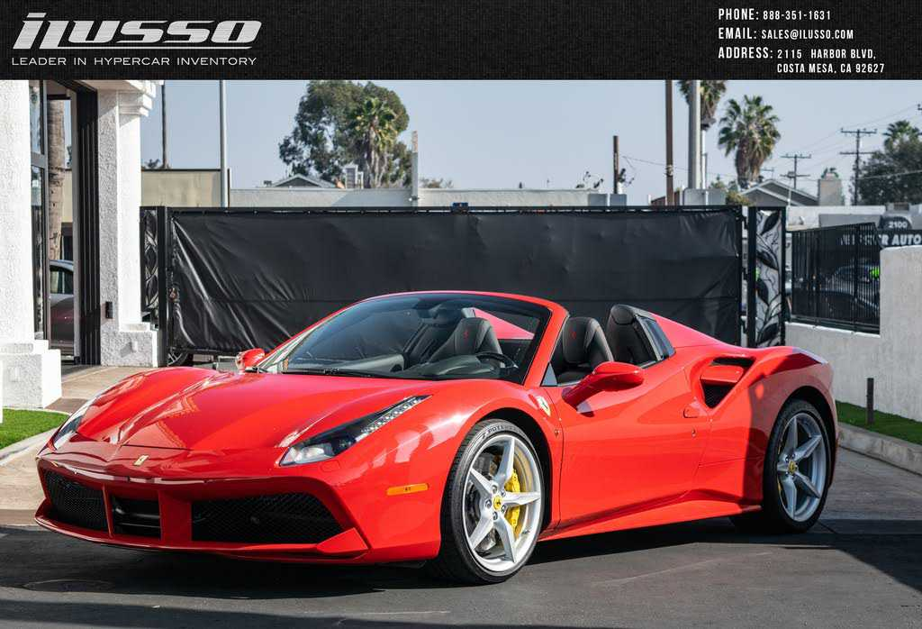 Ferrari 488 2018 $329800.00 incacar.com