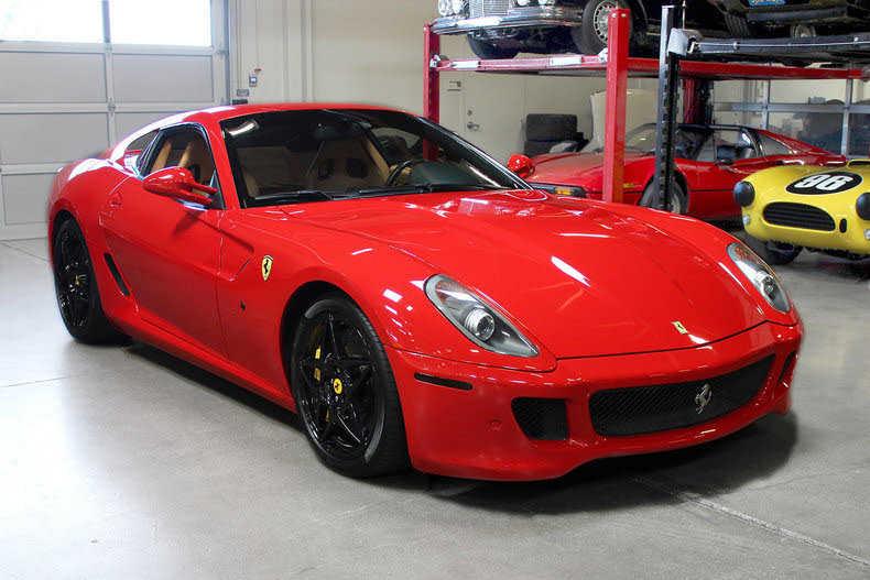 Ferrari 599 GTB Fiorano 2009 $149995.00 incacar.com