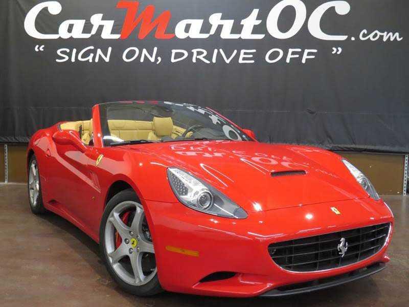 Ferrari California 2010 $99995.00 incacar.com