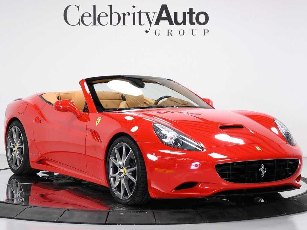 used Ferrari California 2011 vin: ZFF65LJA5B0180326