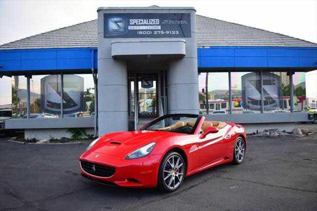 Ferrari California 2011 $103786.00 incacar.com