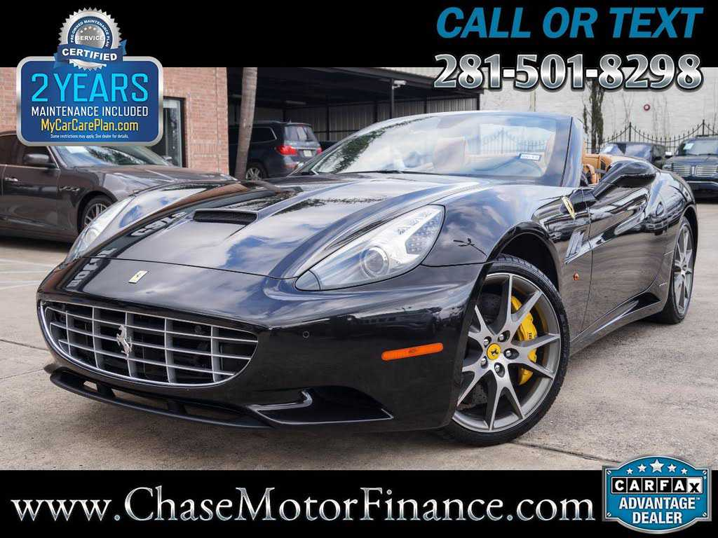 Ferrari California 2011 $103999.00 incacar.com