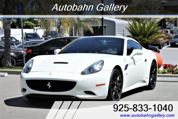 Ferrari California 2011 $99888.00 incacar.com