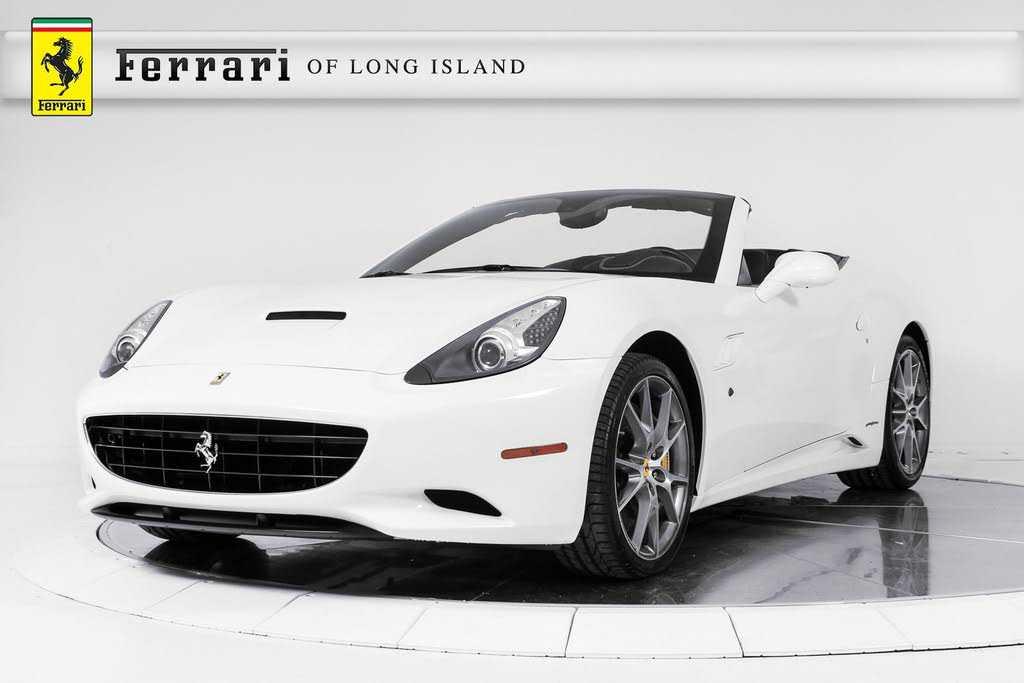Ferrari California 2012 $113900.00 incacar.com