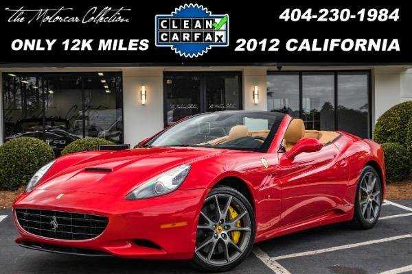 Ferrari California 2012 $99991.00 incacar.com