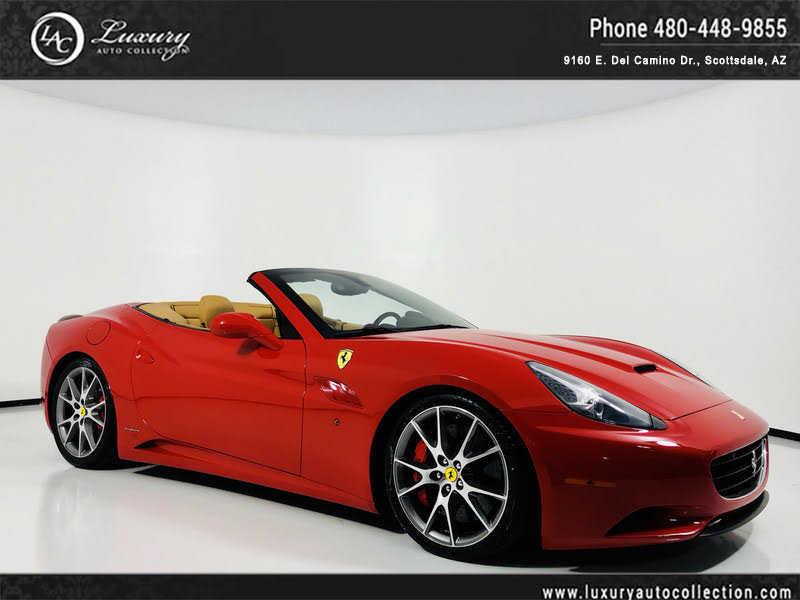Ferrari California 2012 $114000.00 incacar.com