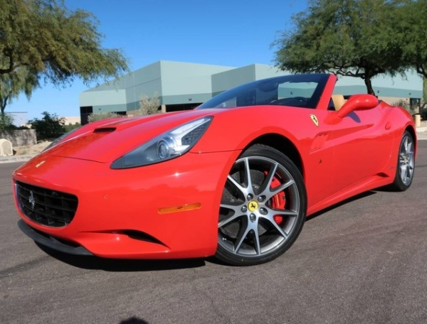 Ferrari California 2012 $107950.00 incacar.com