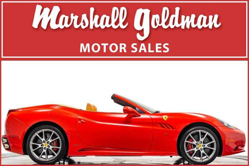 Ferrari California 2012 $118900.00 incacar.com