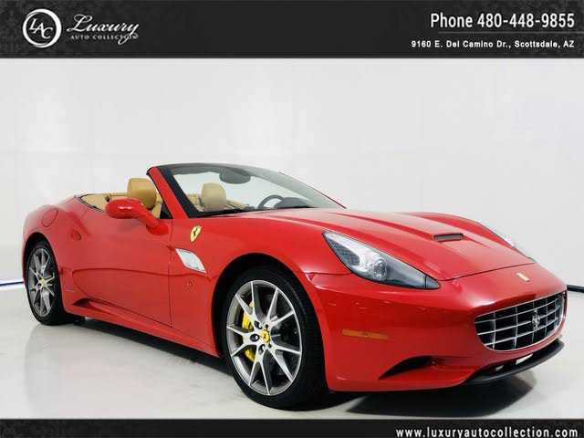 Ferrari California 2013 $128550.00 incacar.com