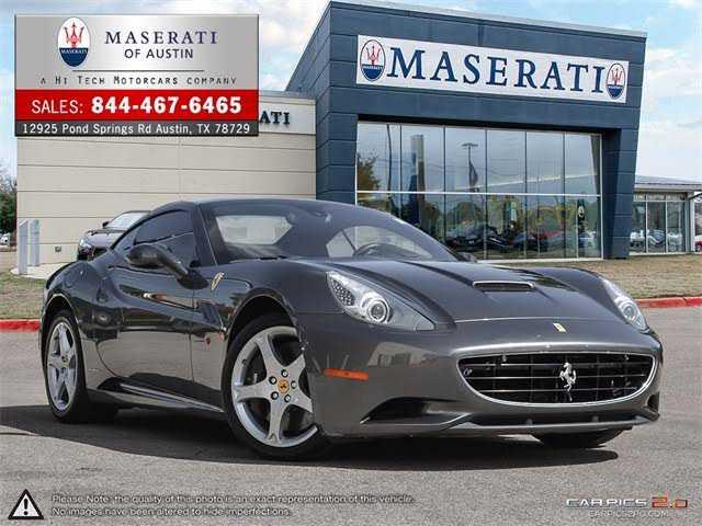 Ferrari California 2014 $139995.00 incacar.com