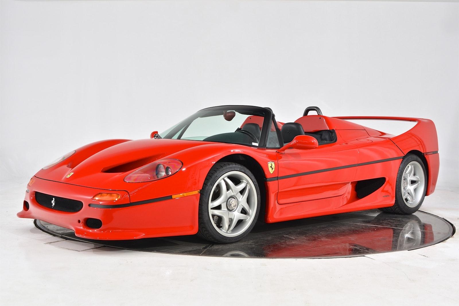 used Ferrari F50 1995 vin: ZFFTG46AXS0103351