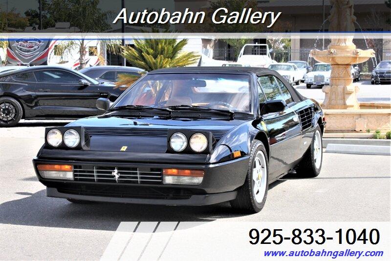 used Ferrari Mondial 1988 vin: ZFFXC26A1J0075133