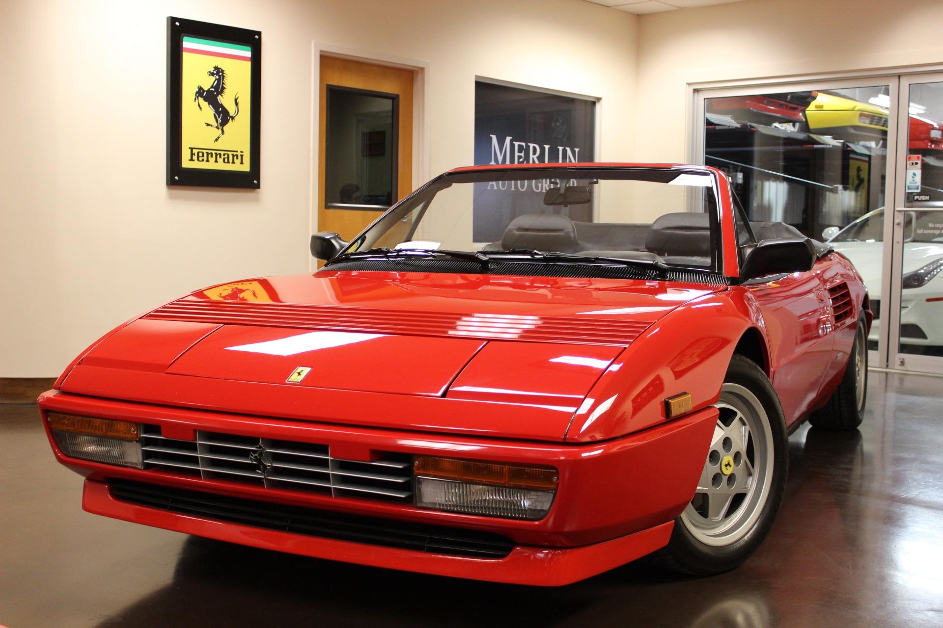 used Ferrari Mondial 1992 vin: ZFFRK33A3N0091538