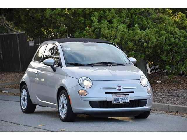 used Fiat 500 2012 vin: 3C3CFFDR7CT122972