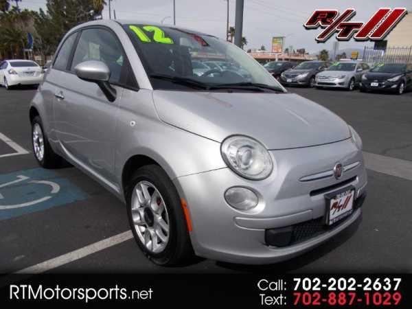 Fiat 500 2012 $3595.00 incacar.com