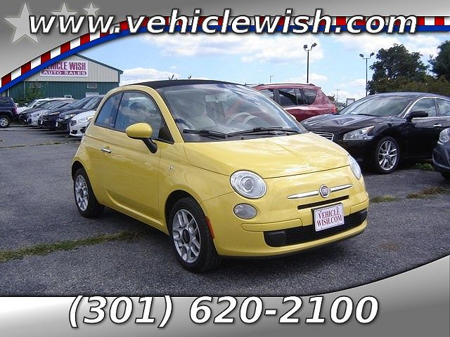used Fiat 500 2012 vin: 3C3CFFDR1CT383644